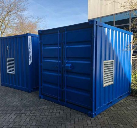 10ft noodstroom aggregaat container 2019