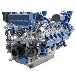 12 M33.2 Baudouin scheepsmotor