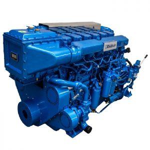 6 M19.3 Baudouin Marine Engine WEB