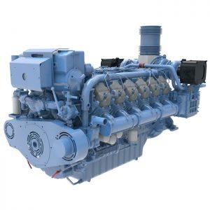 Baudouin Marine Engine 12M26.2 NEW Web